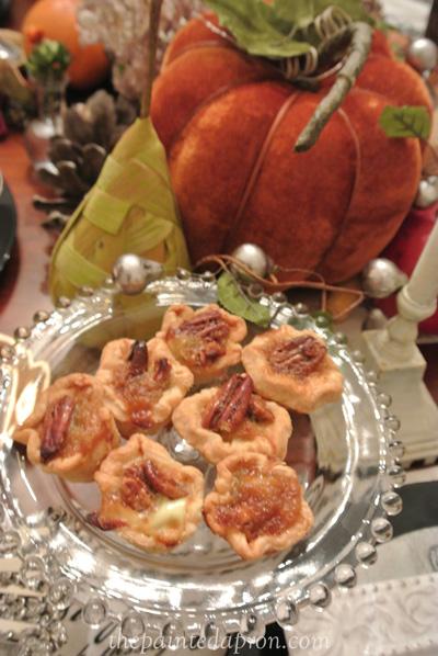 pecan pie bites thepaintedapron.com