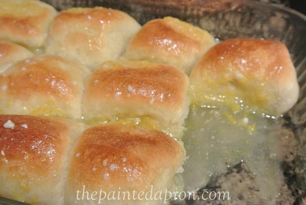 orange rolls thepaintedapron.com