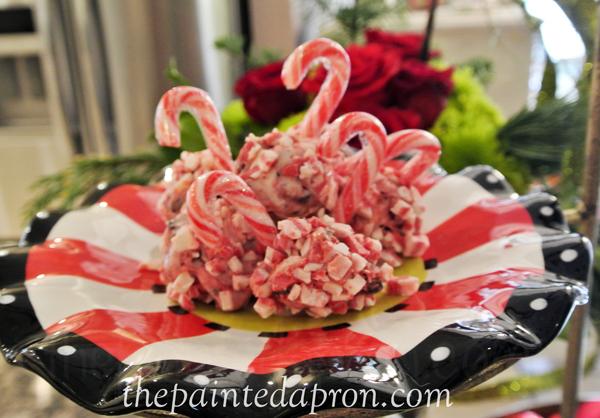 peppermint snowballs 3 thepaintedapron.com