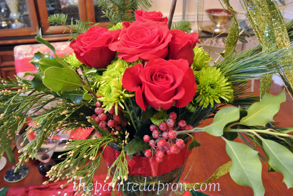 roses and greens thepaintedapron.com