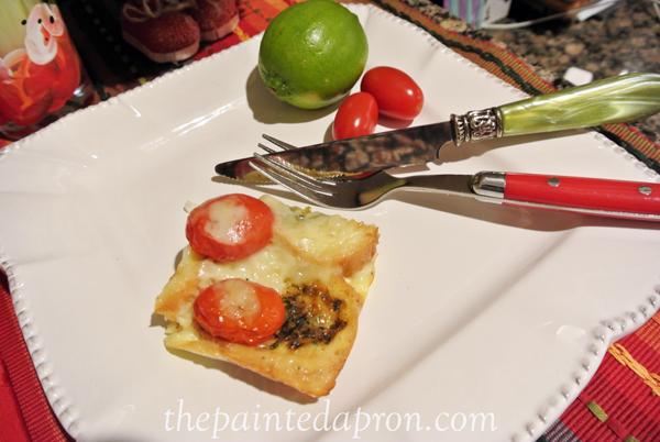 tomato brunch bake thepaintedapron.com