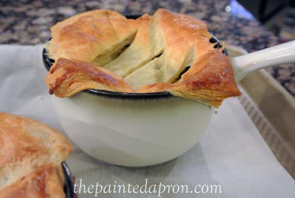 chicken and green bean pot pie thepaintedapron.com