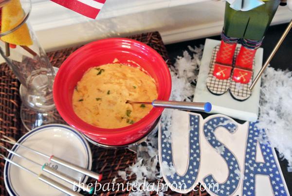 cheese fondue 4 thepaintedapron.com