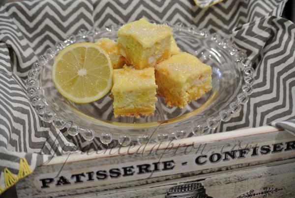lemon cheesecake squares 3 thepaintedapron.com