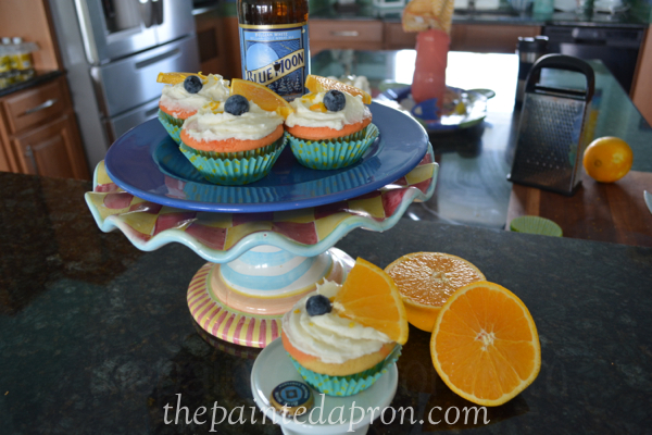 beer cupcakes thepaintedapron.com