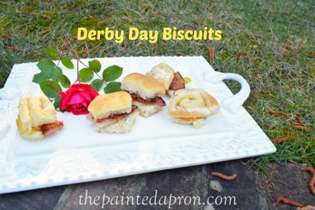 Derby Day Biscuits thepaintedapron.com