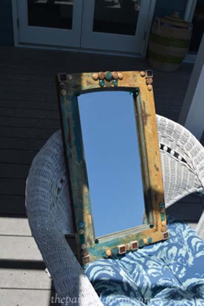 tiled mirror thepaintedapron.com