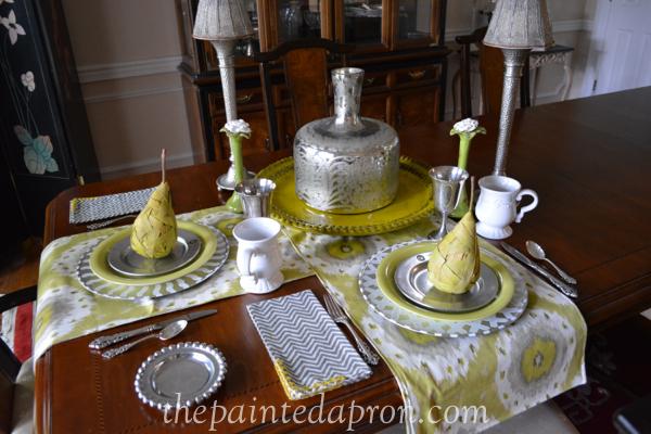pear table thepaintedapron