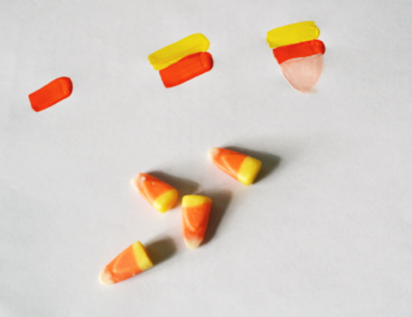 candy corn thepaintedapron.com