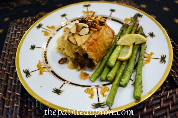 chicken and asparagus thepaintedapron.com