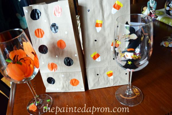 Halloween treats thepaintedapron.com