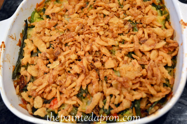 onion topped veggie orzo thepaintedapron.com