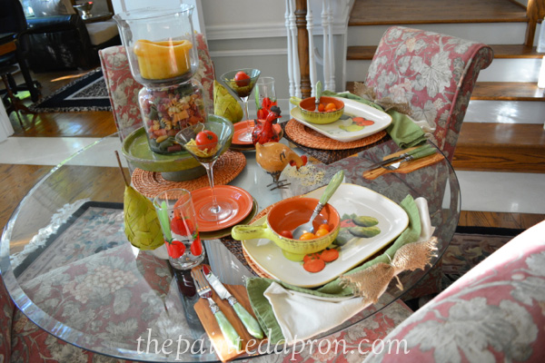 rustic farm table 2 thepaintedapron.com