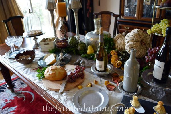 tapas in the vineyard thepaintedapron.com