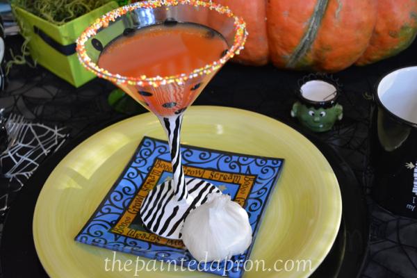 blood orange martini thepaintedapron.com