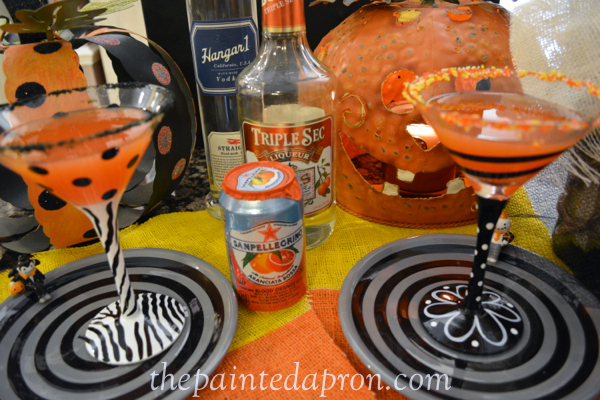 blood orange martinis thepaintedapron.com