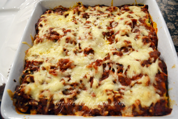 Creamy lasagna thepaintedapron.com