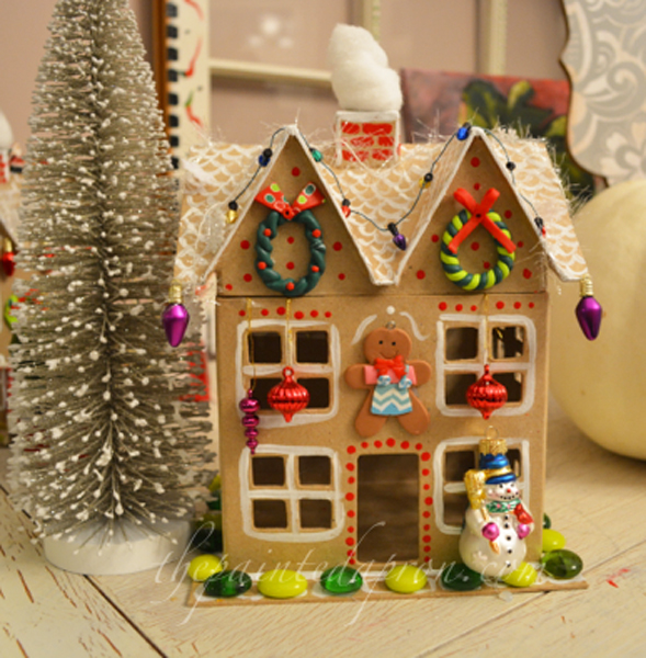 gingerbread house 3 thepaintedapron.com