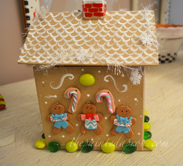 gingerbread house rear thepaintedapron.com
