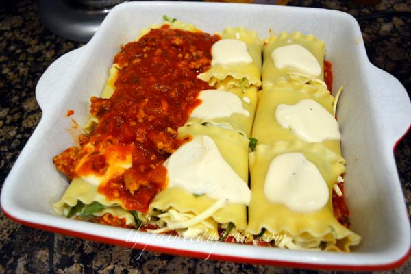 lasagna rolls thepaintedapron.com