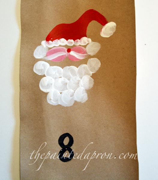 painted Santa 2 thepaintedapron.com
