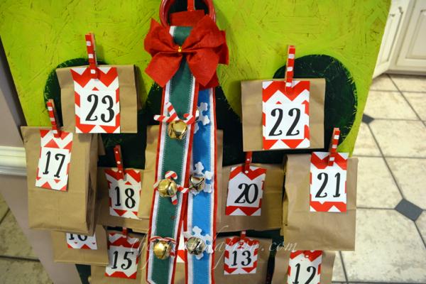 sleigh bells for Dec 24 thepaintedapron.com