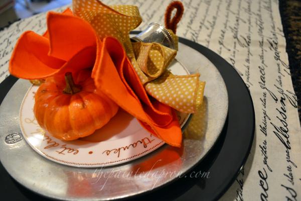 turkey napkin 2 thepaintedapron.com
