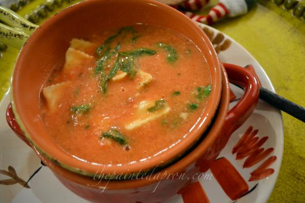 Chobani Tomato Soup thepaintedapron.com