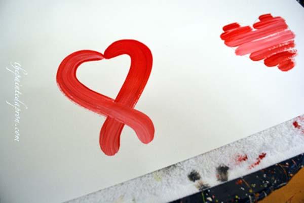 abstract heart 1 thepaintedapron.com