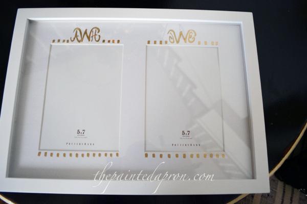 personalized frame thepaintedapron.com