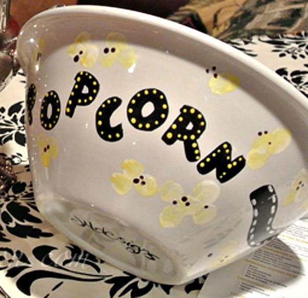 popcorn movie bowl thepaintedapron.com