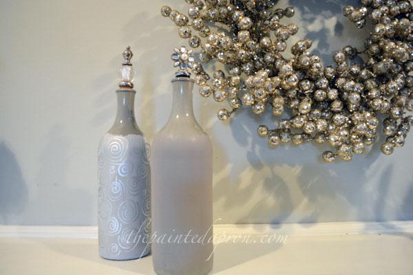 silver bottles thepaintedapron.com