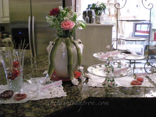 Valentine buffet