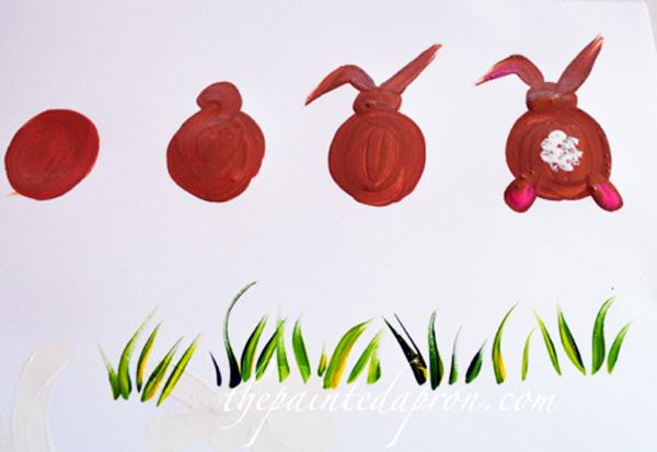 bunny backside thepaintedapron.com