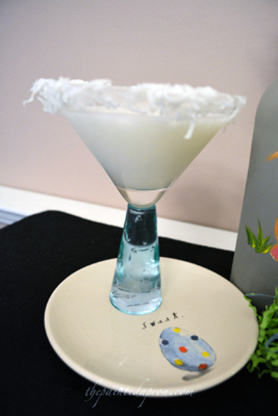 coconut cake martini thepaintedapron.com