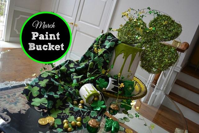 March paint bucket thepaintedapron.com