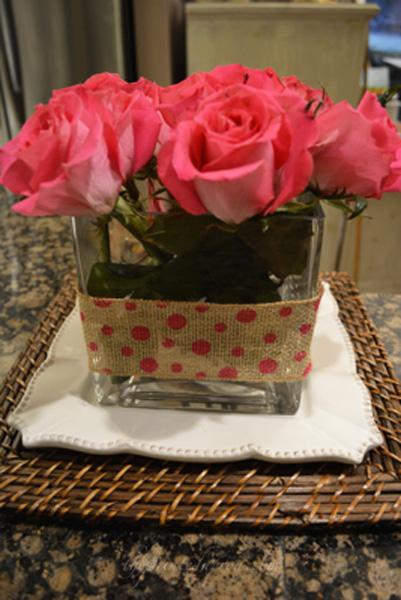 pink roses thepaintedapron.com