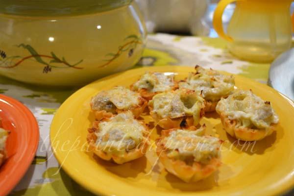 artichoke mini pies thepaintedapron.com
