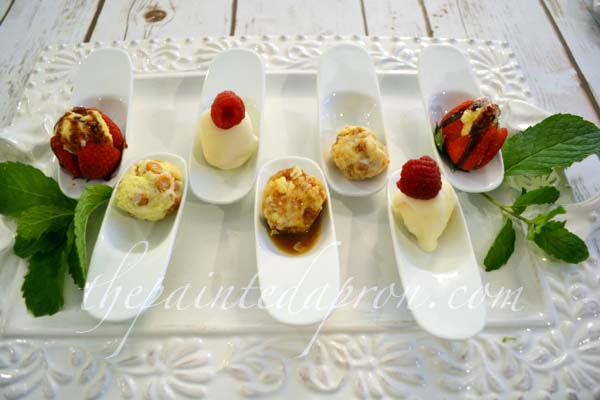 assorted dessert spoons thepaintedapron.com