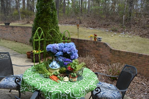 bunny garden buffet 3 thepaintedapron.ocm