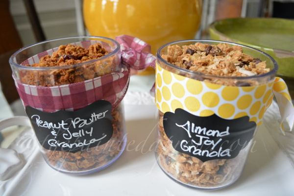 granola flavors thepaintedapron.com
