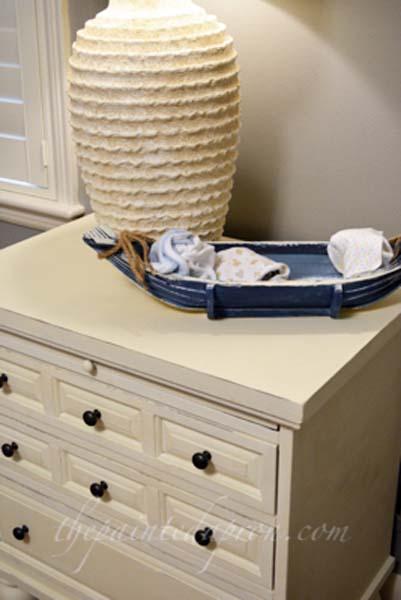 nautical nightstand thepaintedapron.com