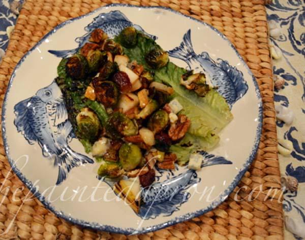 Grilled Romaine salad 2 thepaintedapron.com