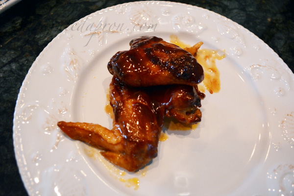 Island Chicken Wings thepaintedapron.com