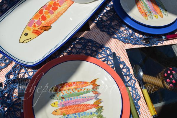 Sardina plates thepaintedapron.com