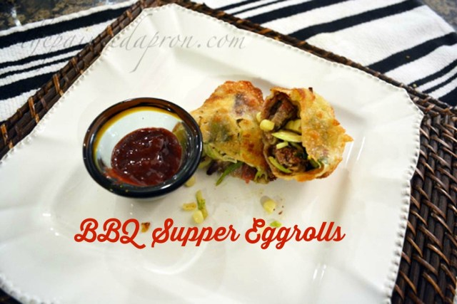 BBQ Supper Eggrolls 2 thepaintedapron.com