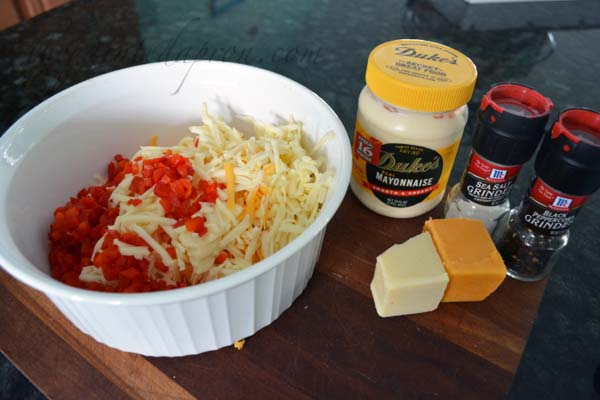 pimento cheese ingredients thepaintedapron.com