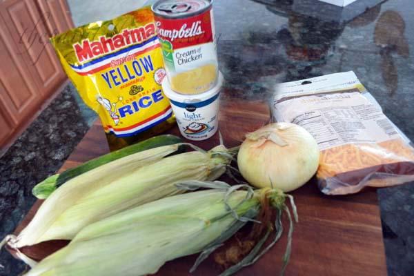 saffron rice ingredients