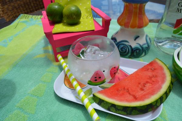watermelon on the rocks thepaintedapron.com
