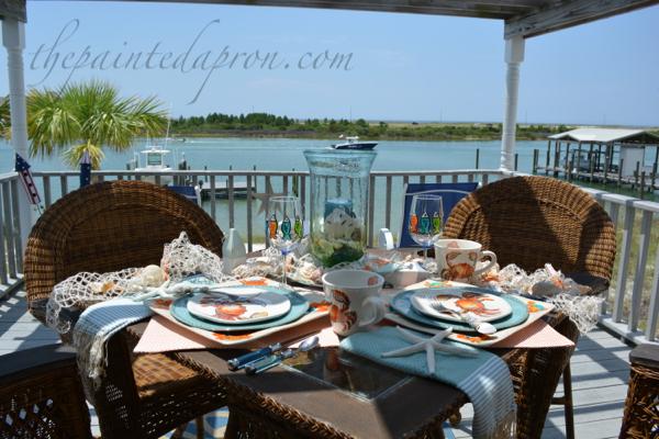 netting crabs 11 thepaintedapron.com
